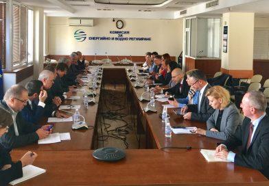 Националната енергийна камара и Комисията за енергийно и водно регулиране проведоха работна среща по актуални теми